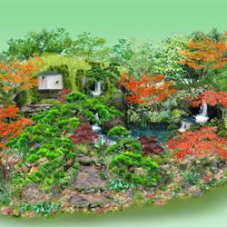 石原和幸特別展示ガーデン