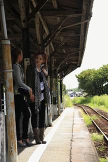 天竜浜名湖線「気賀駅」到着1