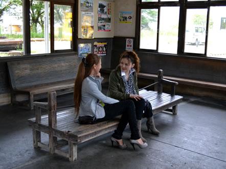 天竜浜名湖線「気賀駅」到着3