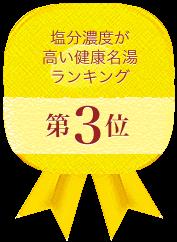 硫黄濃度が高い健康名湯ランキング 第3位