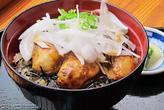 冬の味覚牡蠣カバ丼