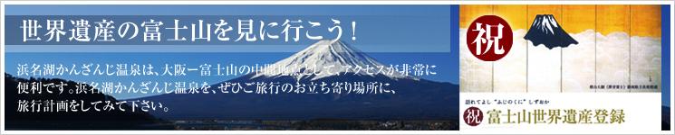 世界遺産の富士山を見に行こう!