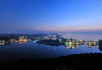 浜名湖・夜空の空中散歩ツアー