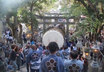 H23舞阪祭典岐佐神社(朝) 020