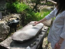 宝林寺の金鳴石